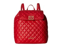 Love Moschino Superquilted Fold Over Red