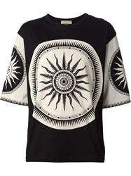 Fausto Puglisi Printed Oversized T Shirt
