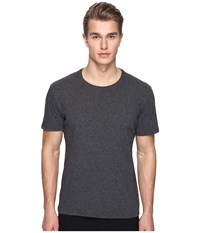 Atm Anthony Thomas Melillo Classic Jersey Crew Neck Tee Charcoal Heather Men's T Shirt Gray