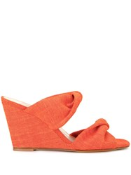 Maryam Nassir Zadeh Twisted Slip On Wedges 60