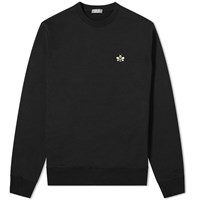 Christian Dior Homme X Kaws Bee Crew Sweat Black
