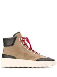 Fear Of God Lace Up Ankle Boots Neutrals