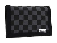 Vans Slipped Trifold Wallet Black Gunmetal Bill Fold Wallet