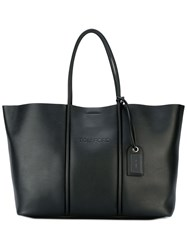 Tom Ford Large Double Handles Tote Black