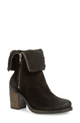 Bos. And Co. Women's 'Beverlee' Waterproof Mid Calf Boot Black Oil Suede