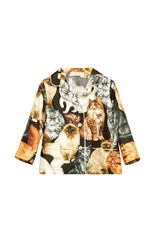 Dolce And Gabbana Cat Print Pajama Blouse 12 24 Months Multi