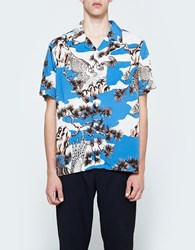Stussy Falcon Shirt In Blue