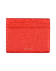Paul Smith Document Holders Red