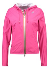 K Way Kway Plus Waterproof Jacket Pink Lilac