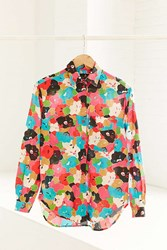 Urban Renewal Vintage 90S Abstract Floral Button Down Shirt Assorted