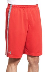 Under Armour Men's 'Ua Tech' Heatgear Training Shorts Red