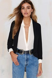 Nasty Gal Back It Up Asymmetrical Blazer