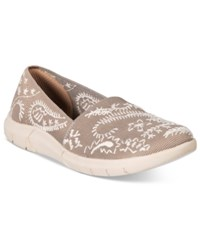 Bare Traps Kessie Slip On Flats Women's Shoes Taupe