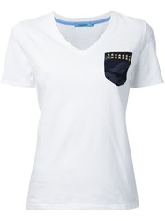 Guild Prime Camouflage Detail T Shirt White