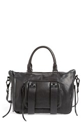 She Lo 'Next Chapter' Satchel Black New Black Perforated