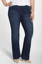Plus Size Women's Cj By Cookie Johnson 'Worthy' Stretch Flare Leg Jeans Bettye
