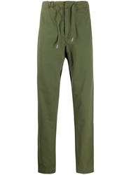 Bellerose Drawstring Waist Trousers Green