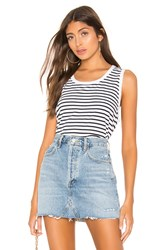 Frank And Eileen Tee Lab Relaxed Asymmetric Tank White