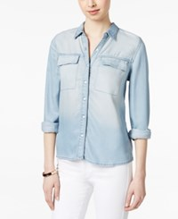 Calvin Klein Jeans Denim Shirt Crystal Blue Wash