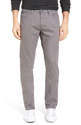 Men's 'Stay Rvca' Slim Straight Pants Smoke