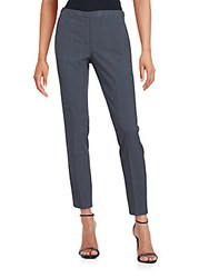 T Tahari Ankle Length Slim Fit Trousers Charcoal