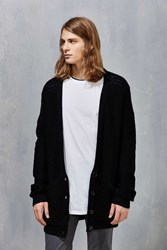 Thing Thing Oversized Cardigan Black