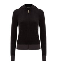 Juicy Couture Laurel Velour Hooded Sweater Female