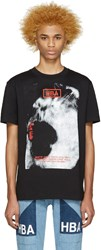 Hood By Air Black World Tour T Shirt