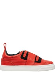 Paco Rabanne Velcro Sneakers Red