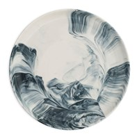 Swirl Marble By Blisshome Side Plate Grey