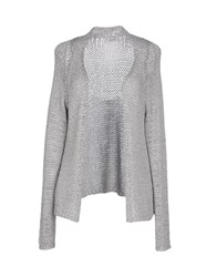 Alpha Studio Knitwear Cardigans Women Light Grey