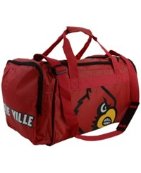 Forever Collectibles Louisville Cardinals Core Duffle Bag Black