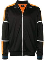 Paul Smith Ps By Stripe Detail Track Jacket Black