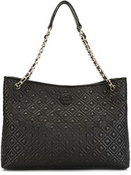Tory Burch Quilted Handbag Black