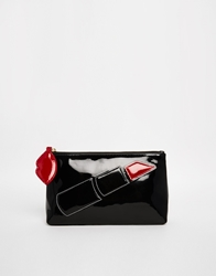 Lulu Guinness Lipstick T Seam Make Up Bag