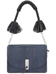 Altuzarra Tassel Detail Shoulder Bag Blue