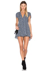 Rolla's Dancer Wrap Dress Navy