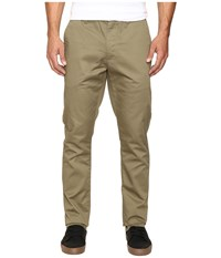 Rvca The Week End Pant Dusky Green Men's Casual Pants
