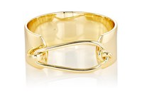 Jules Smith Designs Women's Wide Band Bangle Gold