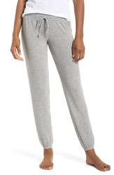 Pj Salvage Peachy Jogger Lounge Pants H Grey