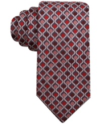 John Ashford Lava Geo Tie Only At Macy's Red