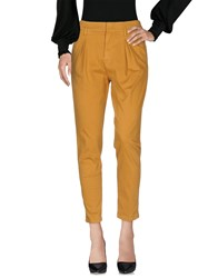 Heavy Project Casual Pants Ocher