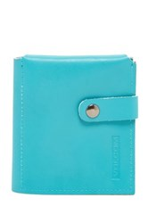 Volcom Basics Leather Wallet Blue