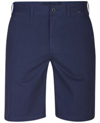 Hurley Men's One And Only Chino Shorts Obsidian