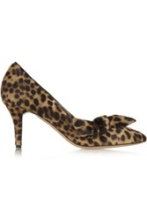 Isabel Marant Pealman Leopard Print Calf Hair Pumps Animal Print