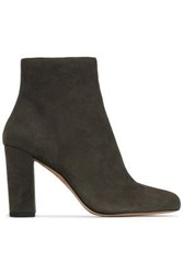 Iro Suede Ankle Boots Army Green
