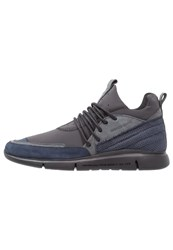 Android Homme Runyon Trainers Navy Black Charcoal