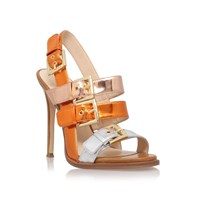 Nine West Howrude High Heel Sandals Orange