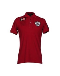 Marville Polo Shirts Maroon