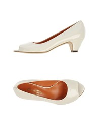 F.Lli Bruglia Footwear Courts Women White